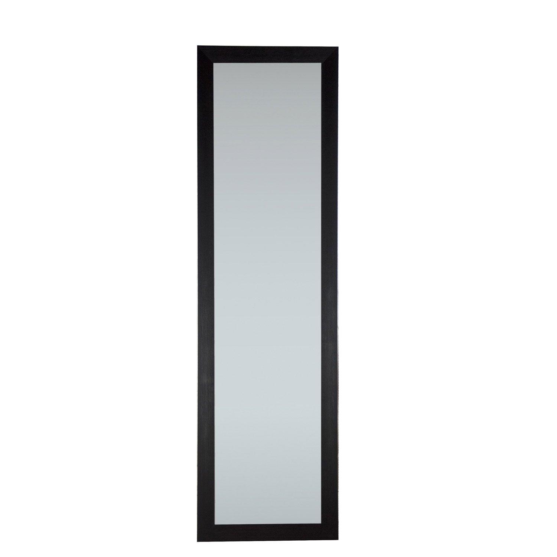 Miroir mia inspire noir x cm leroy merlin - Miroir noir leroy merlin ...