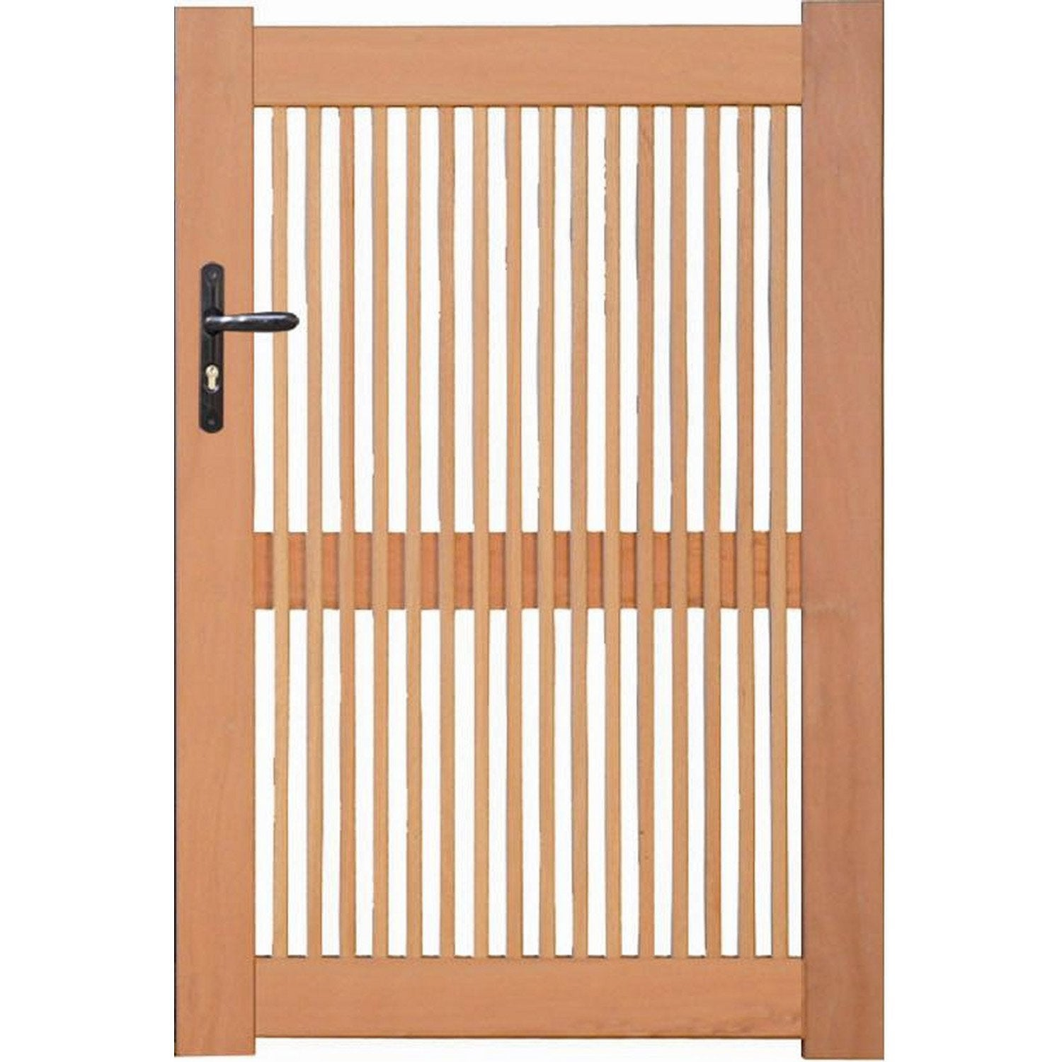 Portillon occasion 44 portail for Balancines para jardin leroy merlin