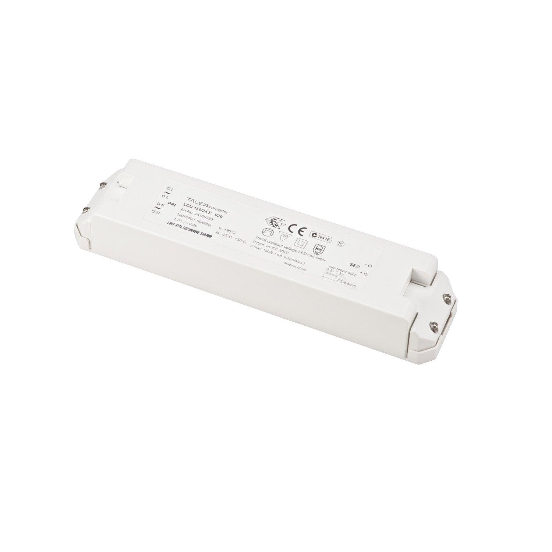Transformateur Led 60w fixe blanc