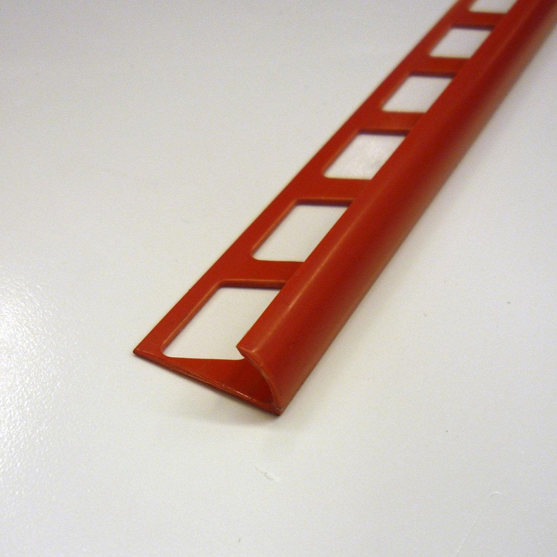 quart de rond en pvc rouge 2 5 m x 9 mm leroy merlin. Black Bedroom Furniture Sets. Home Design Ideas