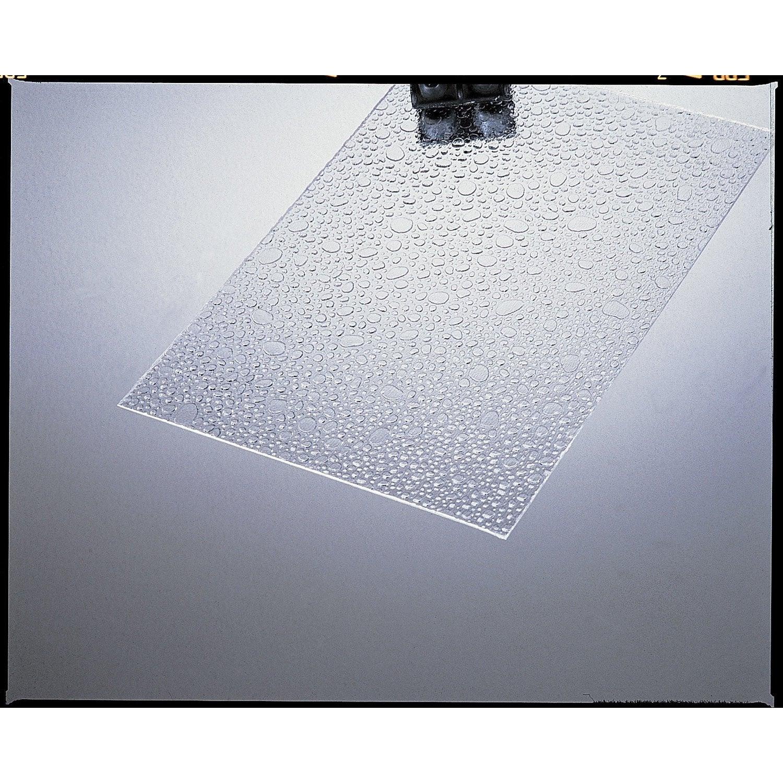 Plaque de verre synth tique goutte d 39 eau polystyr ne 200x100cm p 5mm - Panneau verre synthetique exterieur ...