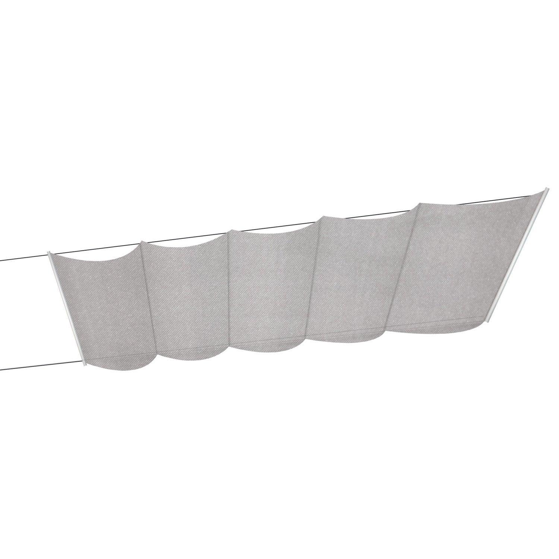 store bateau tlu polyester taupe x cm leroy merlin. Black Bedroom Furniture Sets. Home Design Ideas