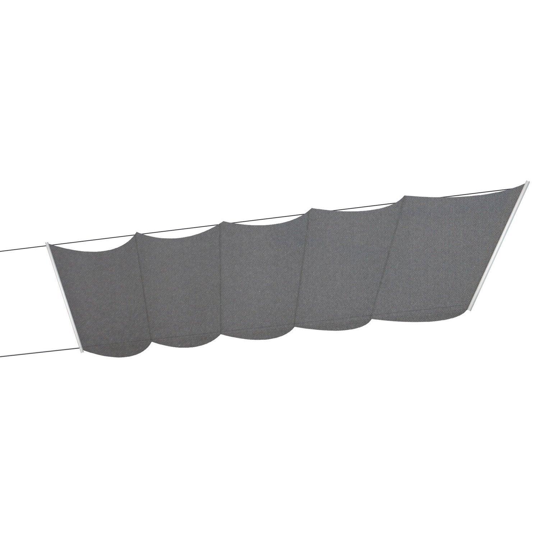 store bateau tlu polyester gris fonc x cm. Black Bedroom Furniture Sets. Home Design Ideas