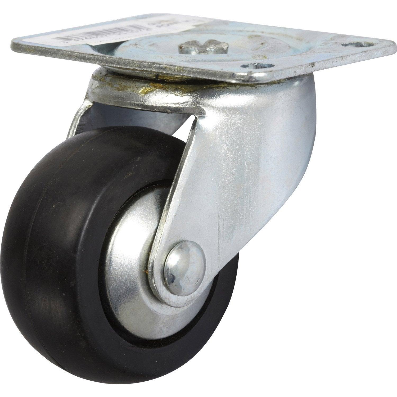 Roulette pivotante platine mm leroy merlin - Leroy merlin roulettes ...