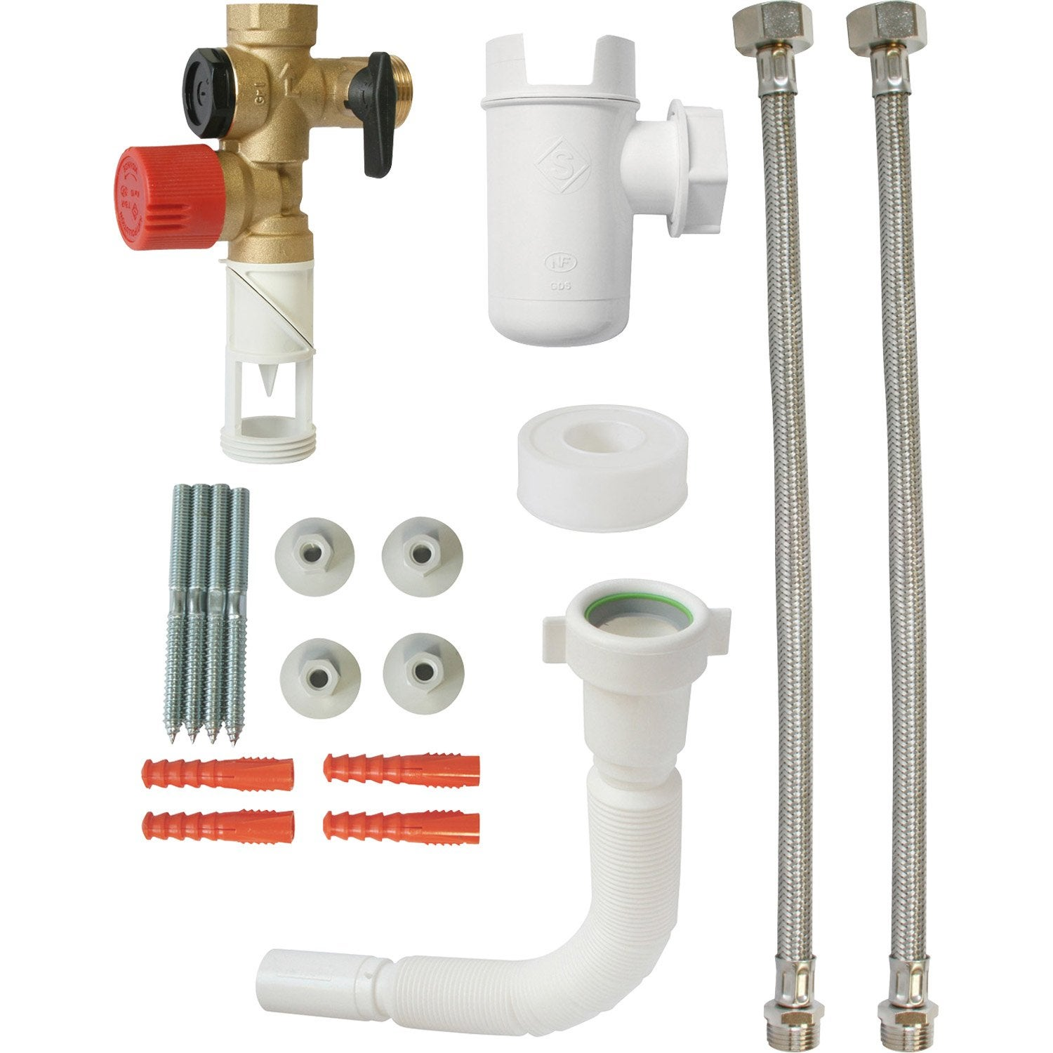 Kit groupe de s curit complet inox pour eau agressive equation leroy merlin - Eau oxygenee leroy merlin ...