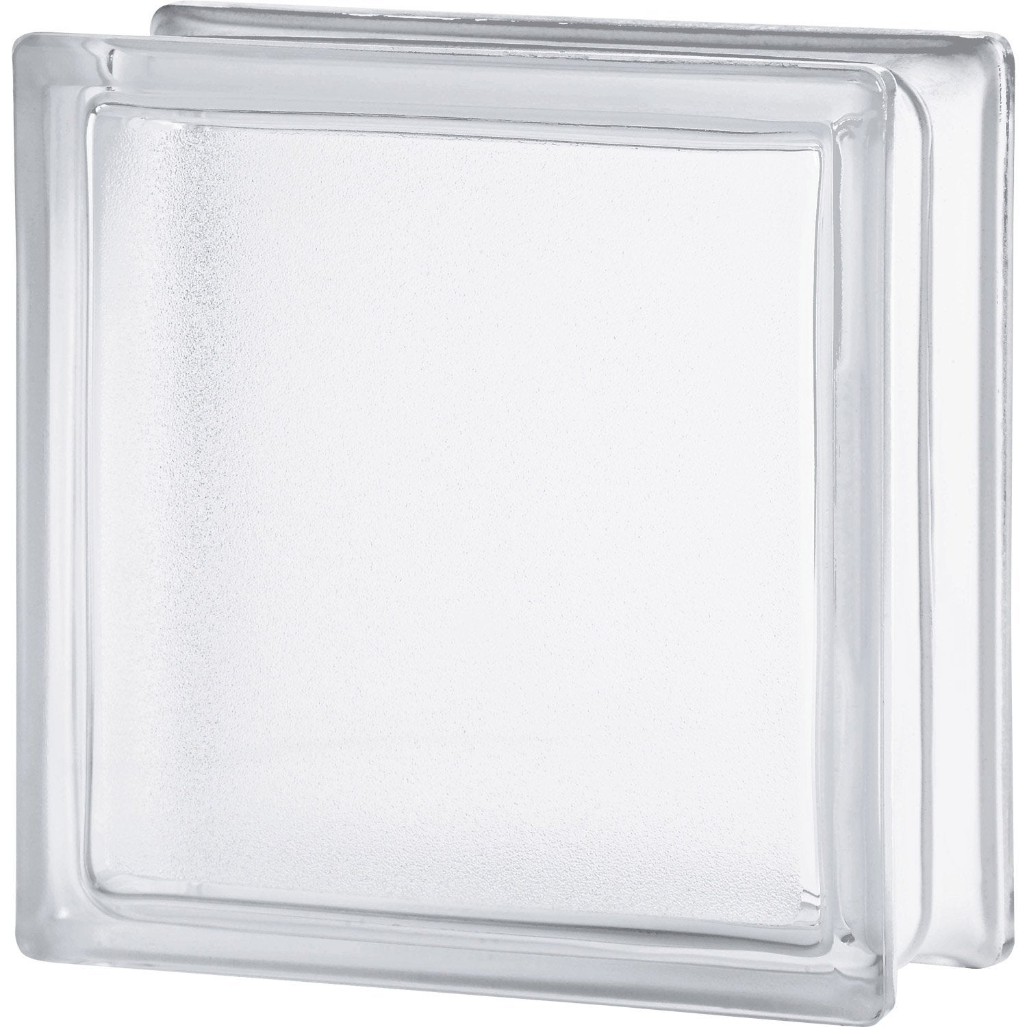 Brique de verre transparent lisse double face leroy merlin - Brique de verre leroy merlin ...