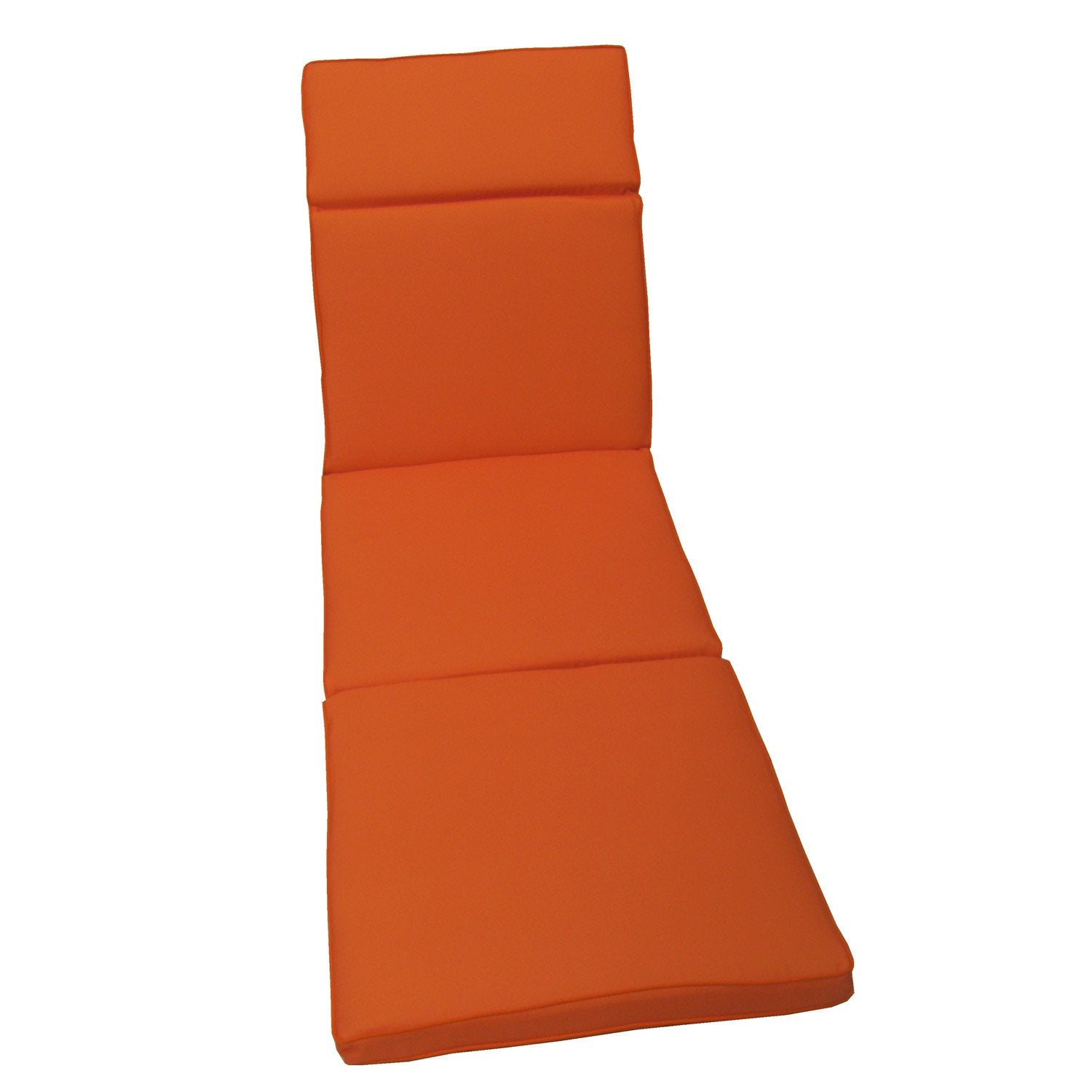 coussin de bain de soleil naterial laura uni orange. Black Bedroom Furniture Sets. Home Design Ideas