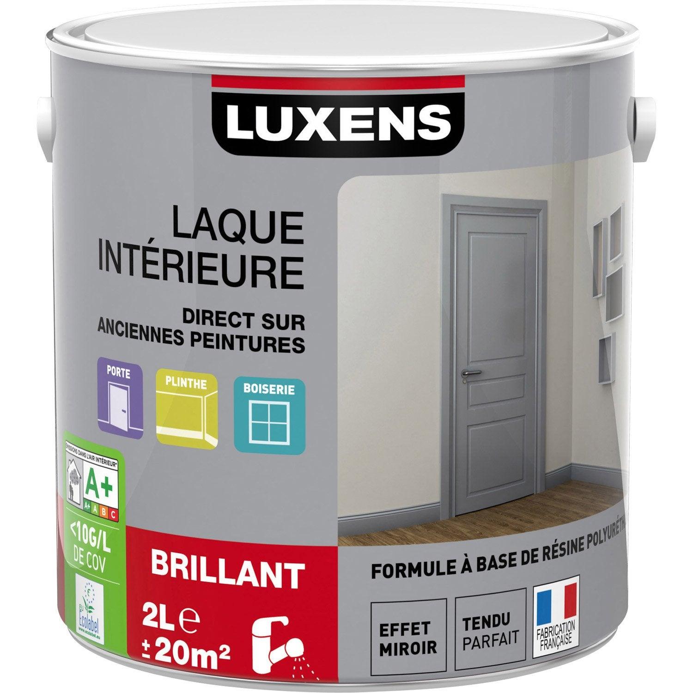 LAQUE MS BRIL LUXENS 2L BLAN BLA 0 | Leroy Merlin