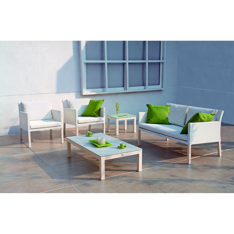 Luxe salon bas de jardin sabakunohana for Leroy merlin mobilier