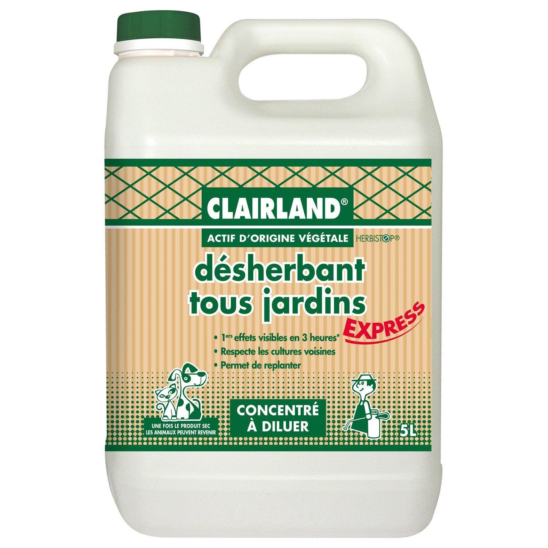 Desherbant selectif clairland bioline 5 - Desherbant total puissant ...