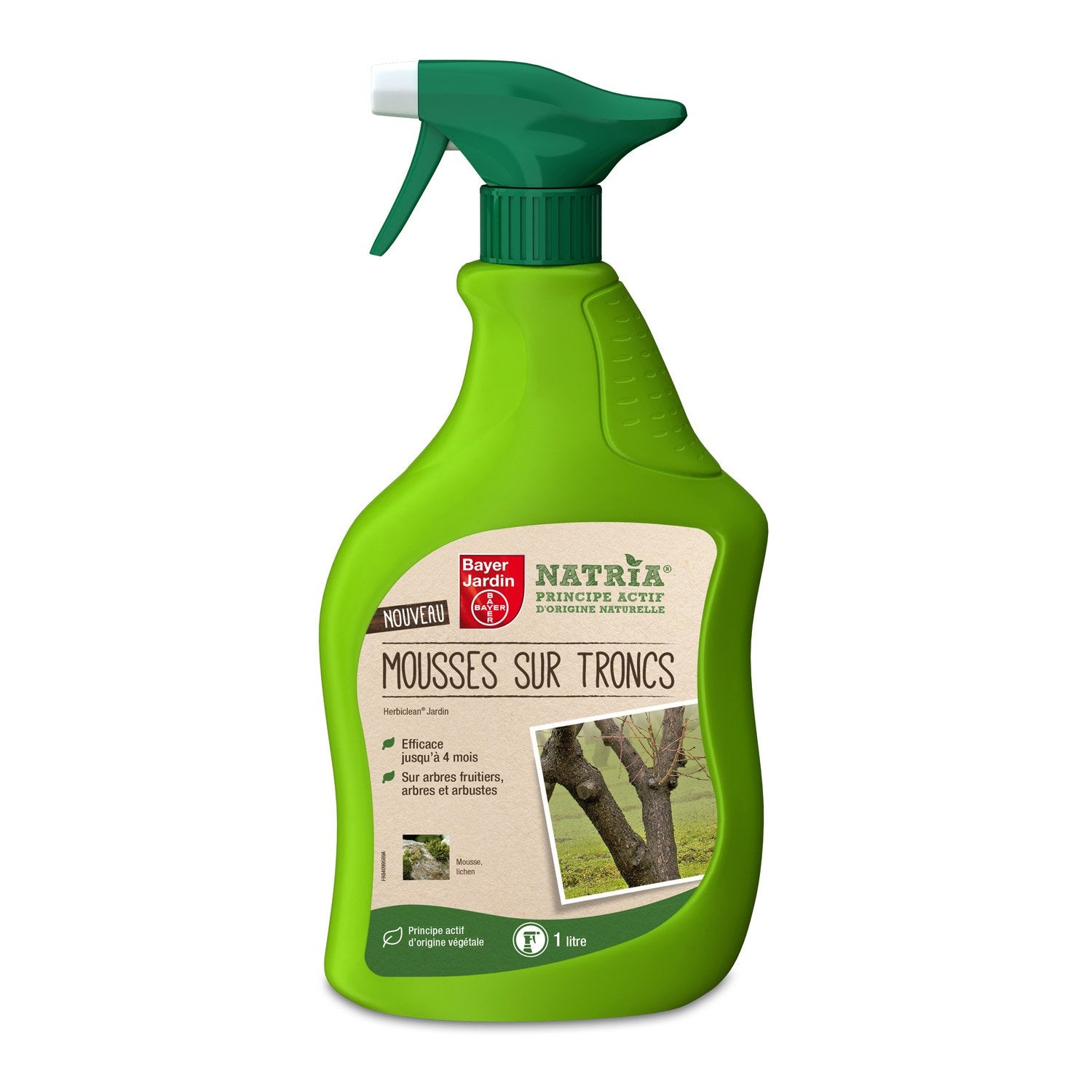 Antimousse polyvalent bayer 1 l leroy merlin for Bayer jardin anti mousse