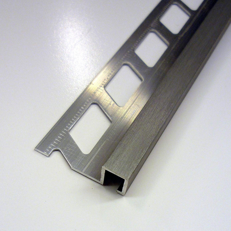 Listel mur aluminium anodis l 2 5 m x ep 9 mm leroy merlin - Listel carrelage leroy merlin ...