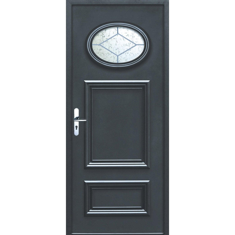 Porte d 39 entr e sur mesure en aluminium lyon excellence - Credence leroy merlin sur mesure ...