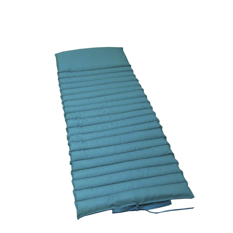 coussin de sol naterial laura uni bleu atoll leroy merlin. Black Bedroom Furniture Sets. Home Design Ideas