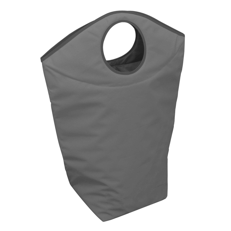 panier linge color gris x x cm leroy merlin. Black Bedroom Furniture Sets. Home Design Ideas