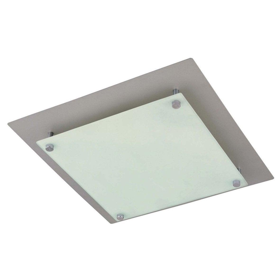 Plafonnier koll aluminium 60 watts leroy merlin - Platte aluminium leroy merlin ...