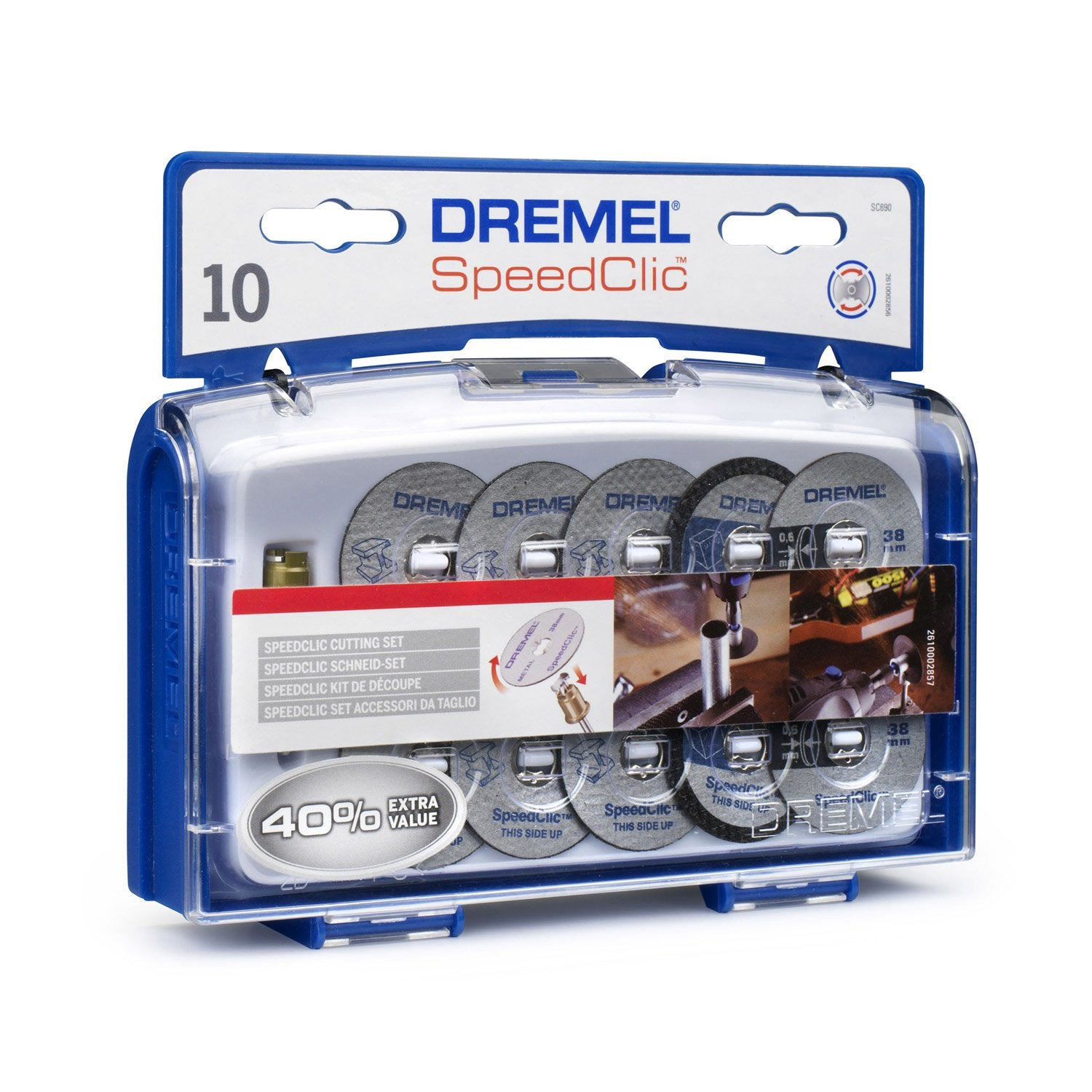 lot de 10 disques tron onner dremel leroy merlin. Black Bedroom Furniture Sets. Home Design Ideas