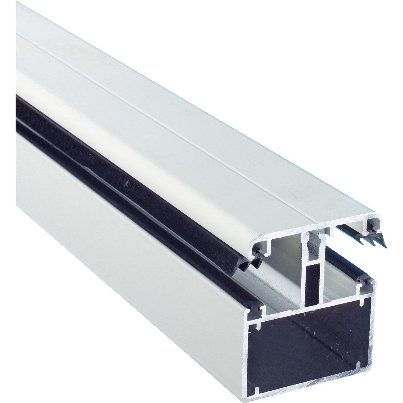 Kit jonction portante blanc pour plaque p 16 32mm long 4m dhaze leroy me - Leroy merlin plaque polycarbonate ...