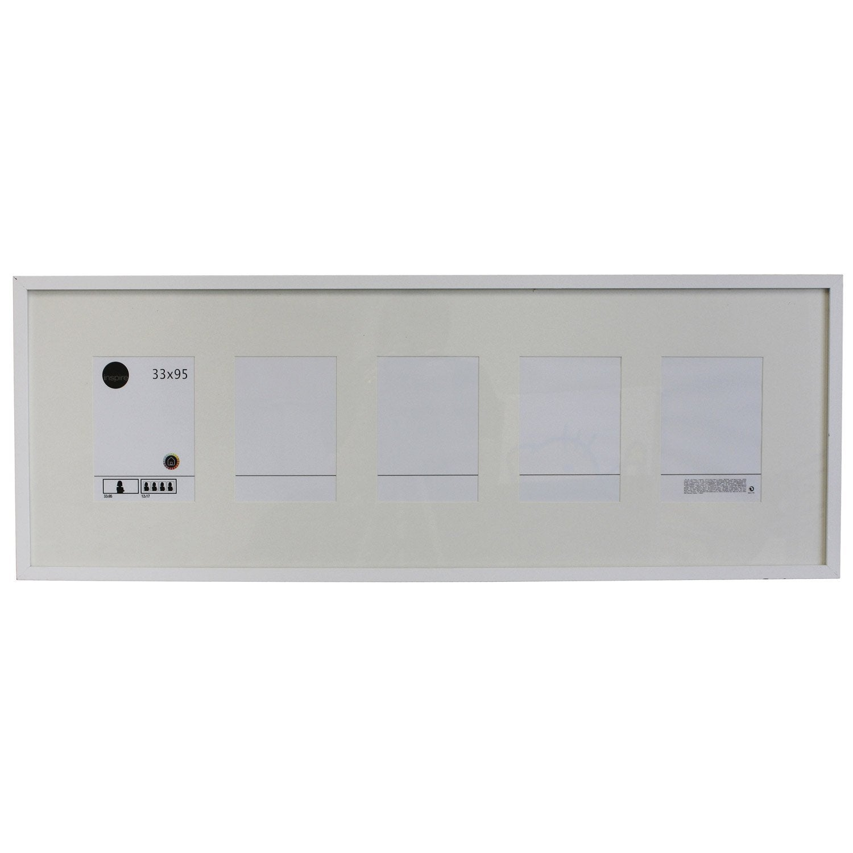 cadre lario 33 x 95 cm blanc blanc n 0 leroy merlin. Black Bedroom Furniture Sets. Home Design Ideas