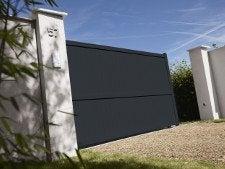 comment poser un portail coulissant leroy merlin. Black Bedroom Furniture Sets. Home Design Ideas