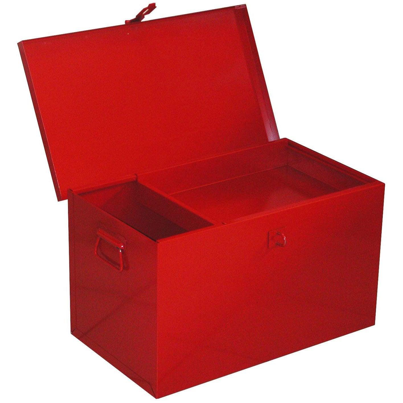 coffre chantier plateau amovible rouge leroy merlin. Black Bedroom Furniture Sets. Home Design Ideas