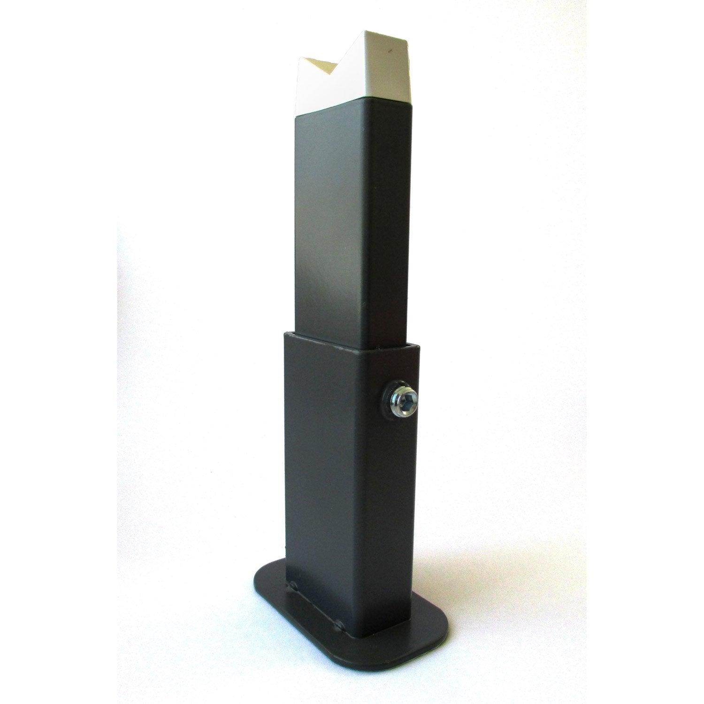 Pied anthracite pour radiateur deltacalor firstone leroy merlin - Pied radiateur fonte leroy merlin ...
