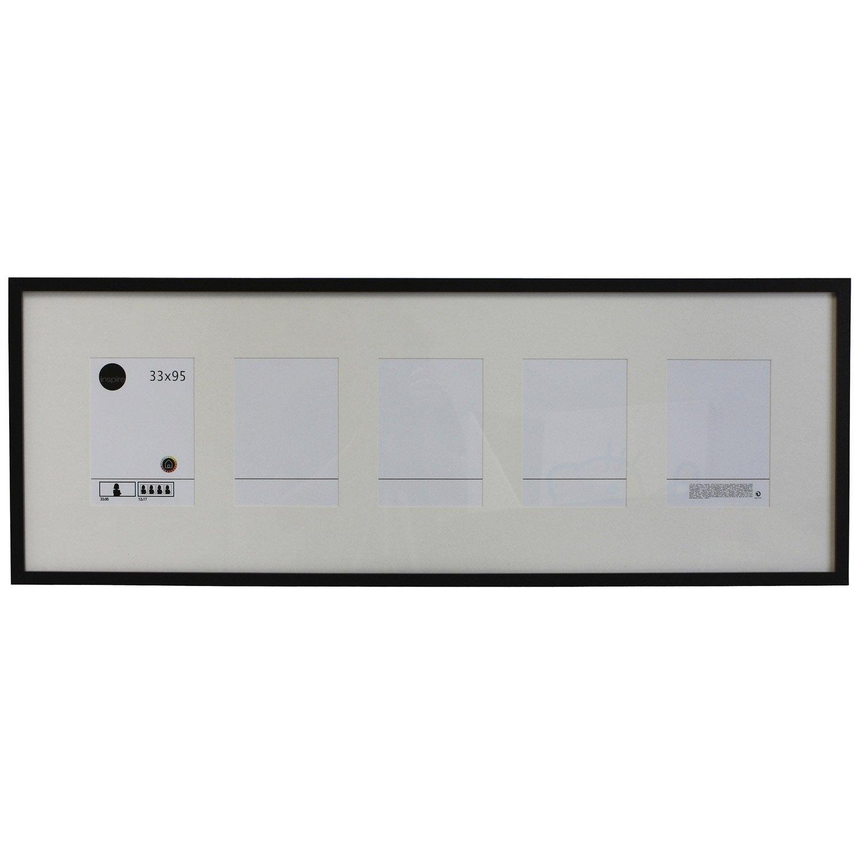 Cadre lario 33 x 95 cm noir noir n 0 leroy merlin - Leroy merlin cadre photo ...