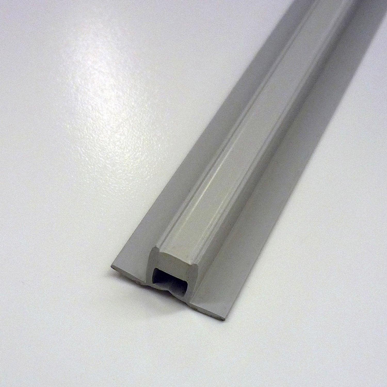 Joint de dilatation fractionnement en pvc gris 2 5 m x - Joint de dilatation carrelage terrasse ...