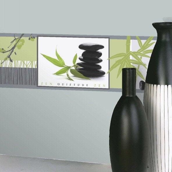 Frise vinyle adh sive zen longueur 5 m leroy merlin - Leroy merlin frise adhesive ...