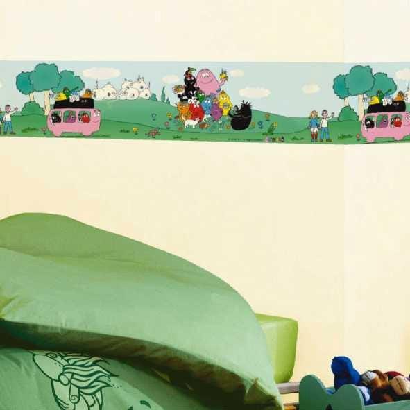 Frise vinyle adh sive barbapapa longueur 5 m leroy merlin - Leroy merlin frise adhesive ...