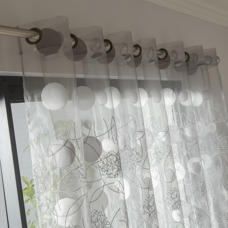 voilages leroy merlin pas cher. Black Bedroom Furniture Sets. Home Design Ideas