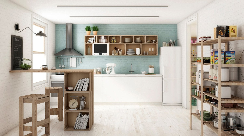 cuisine inspiration vintage leroy merlin. Black Bedroom Furniture Sets. Home Design Ideas