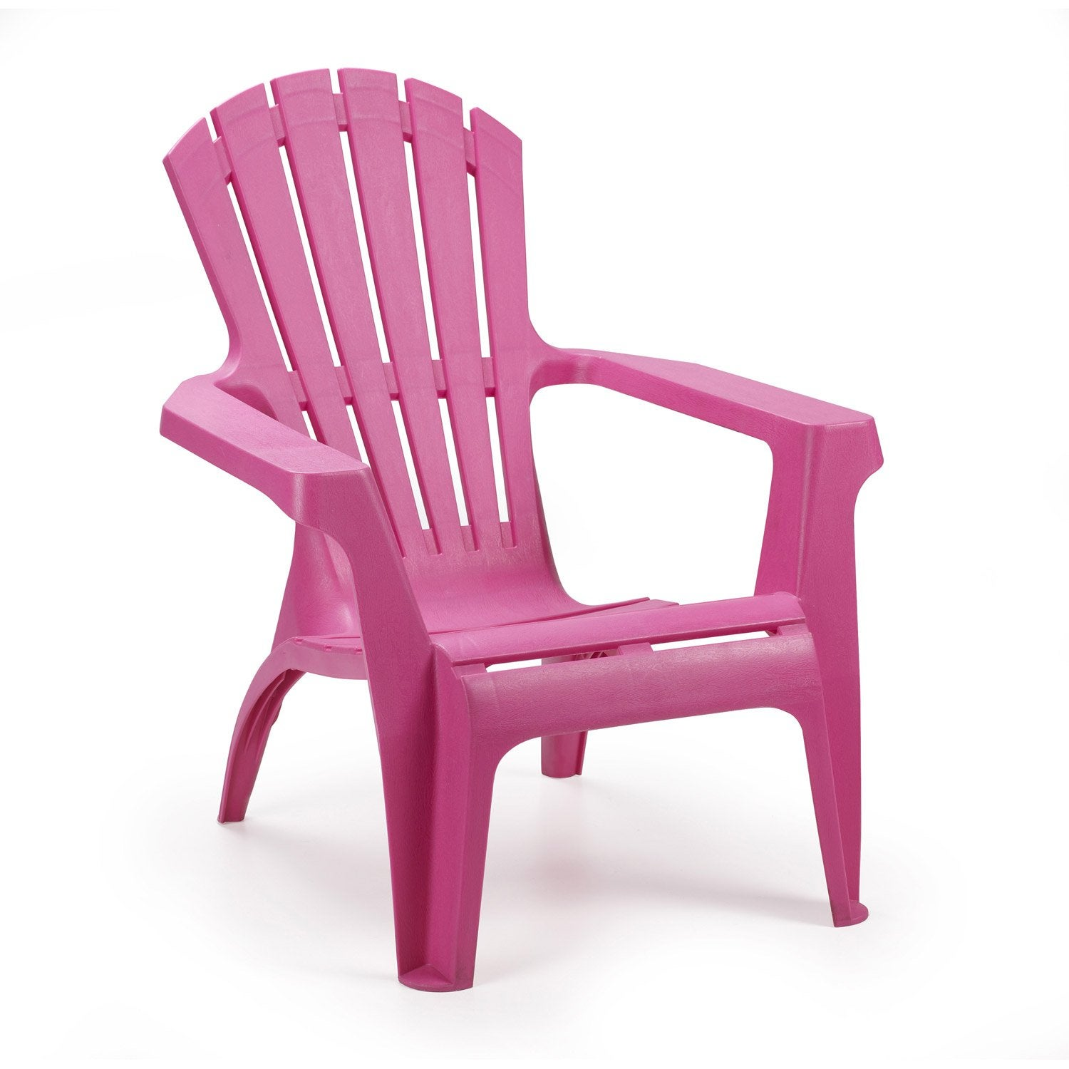 fauteuil bas de jardin en r sine dolomiti fuchsia leroy. Black Bedroom Furniture Sets. Home Design Ideas
