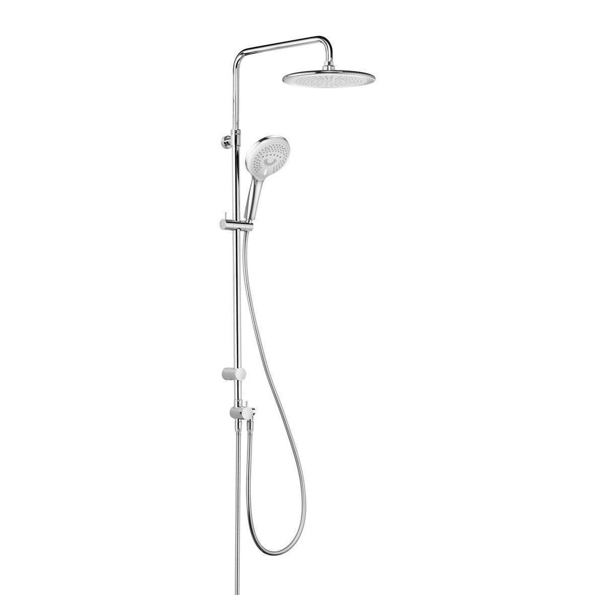 colonne de douche et bain sans robinetterie kludi d zire ultra plat leroy merlin. Black Bedroom Furniture Sets. Home Design Ideas