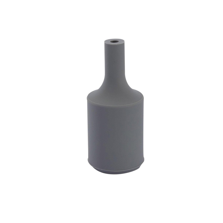 douille lectrique vis e27 silicone gris leroy merlin. Black Bedroom Furniture Sets. Home Design Ideas