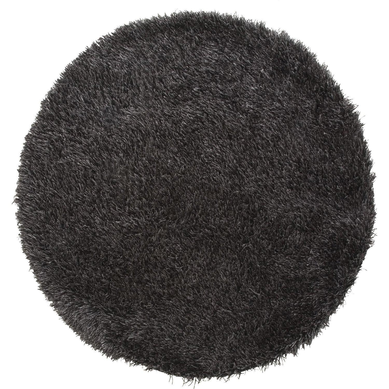 tapis noir shaggy love mm leroy merlin. Black Bedroom Furniture Sets. Home Design Ideas
