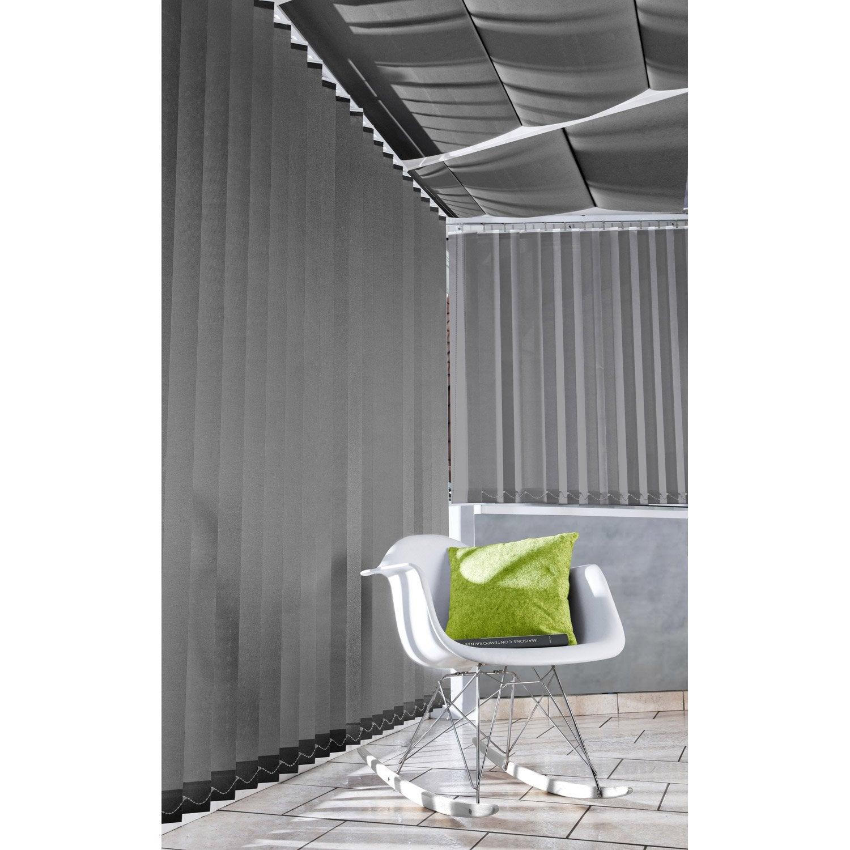 store californien en kit anthracite 200x260. Black Bedroom Furniture Sets. Home Design Ideas