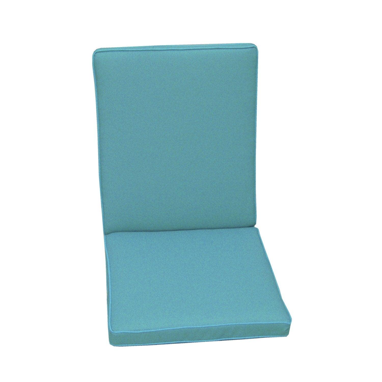 Coussin d 39 assise dossier de chaise ou de fauteuil naterial - Assise tabouret de bar leroy merlin ...