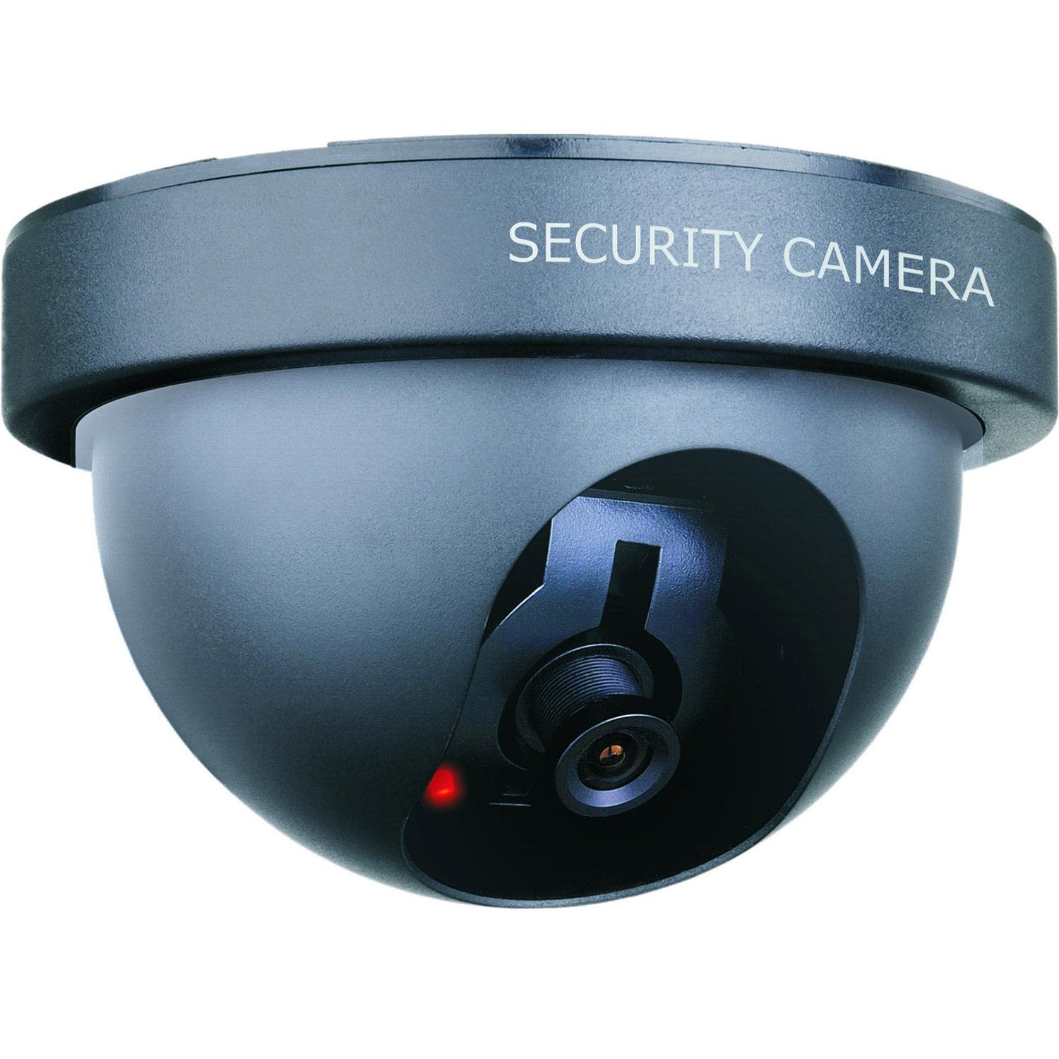 Cam ra factice avec led clignotante smartwares cs44dfr - Camera factice leroy merlin ...