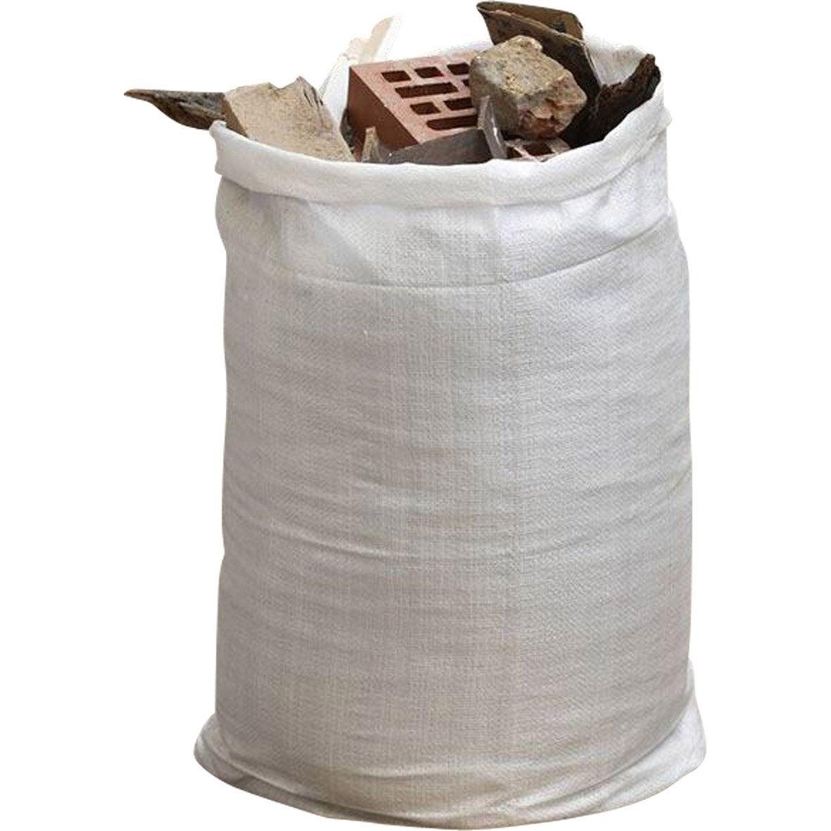 Lot de 5 sacs gravats r utilisables geolia capacit 70 l leroy merlin - Sac a gravats ...