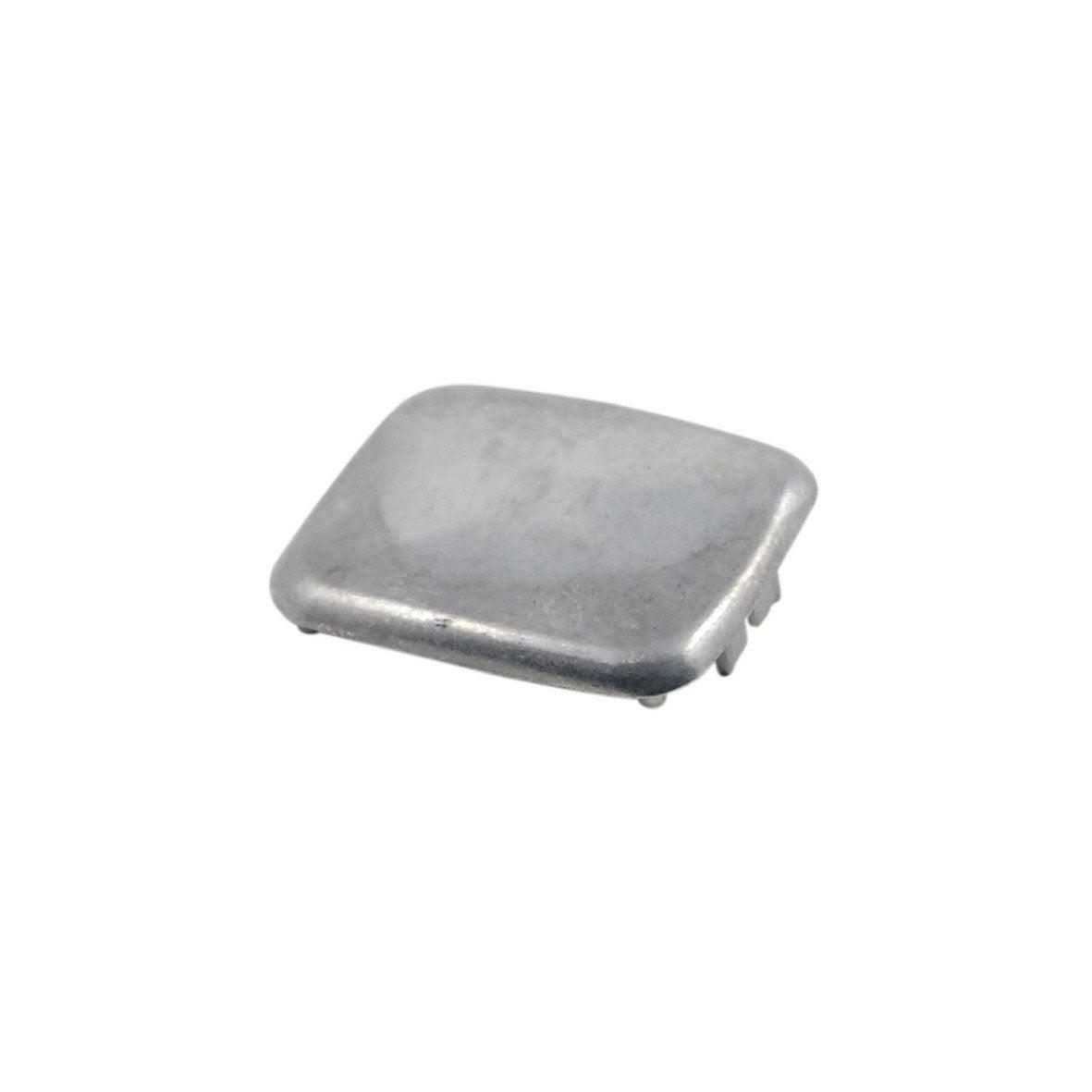 chapeau pour poteau premium en aluminium fixer leroy merlin. Black Bedroom Furniture Sets. Home Design Ideas