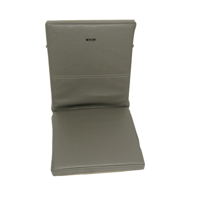 Coussin d 39 assise dossier de chaise ou de fauteuil tanneur for Coussin de chaise de jardin 45x45