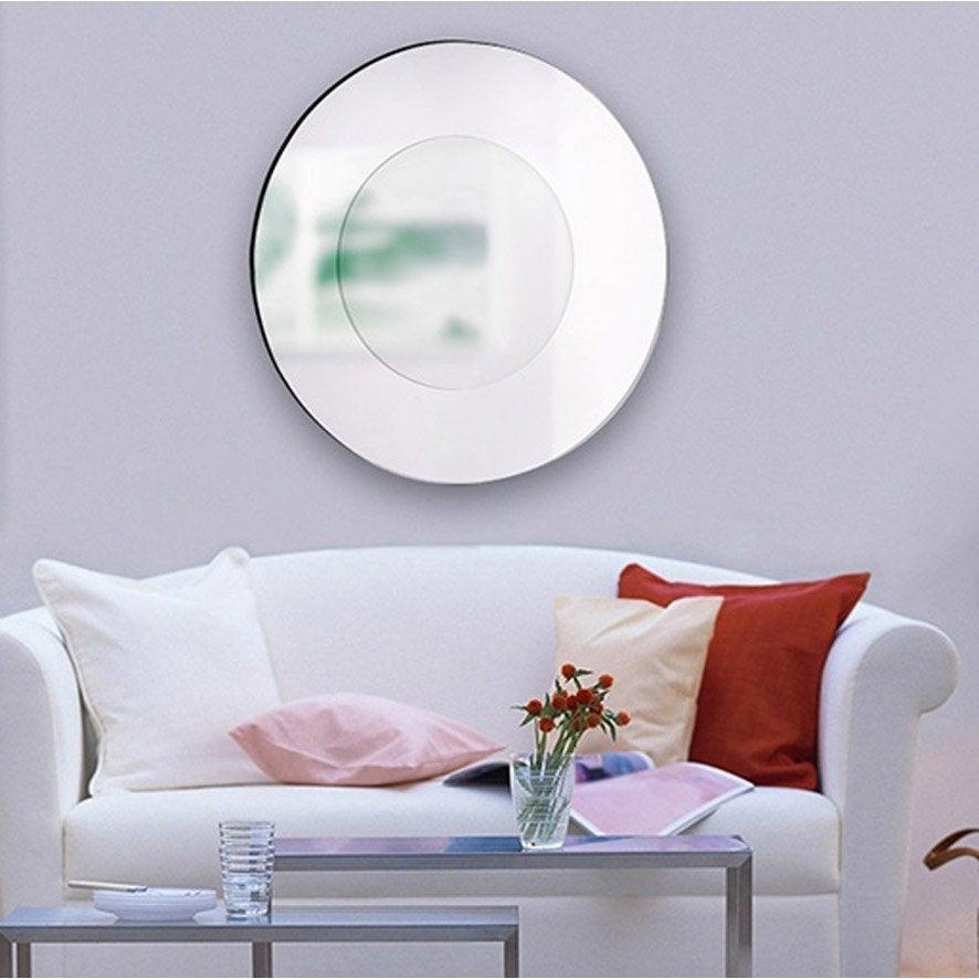 Miroir grand format leroy merlin for Miroir argent castorama