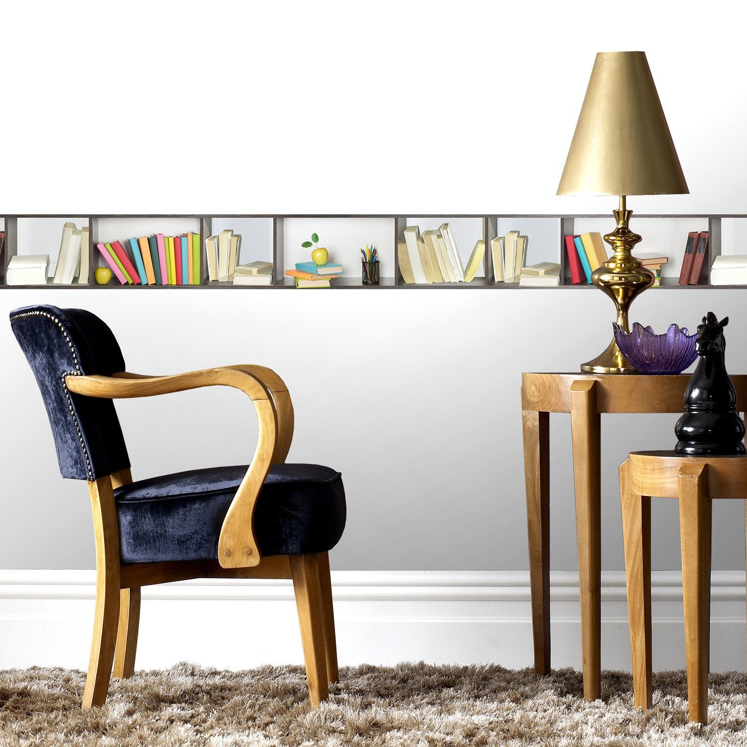 Awesome Frise Vinyle Adhesive Lulu Castagnette Contemporary - Design ...