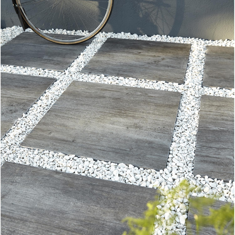 dalle gr s c rame pleine masse siena bois gris x l. Black Bedroom Furniture Sets. Home Design Ideas