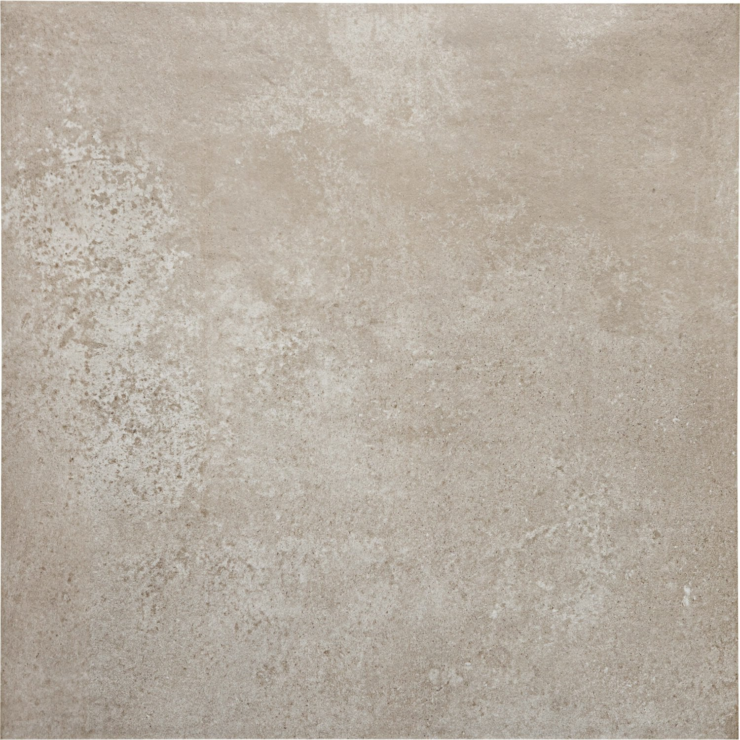 Carrelage sol et mur taupe effet pierre chateau x l for Carrelage taupe