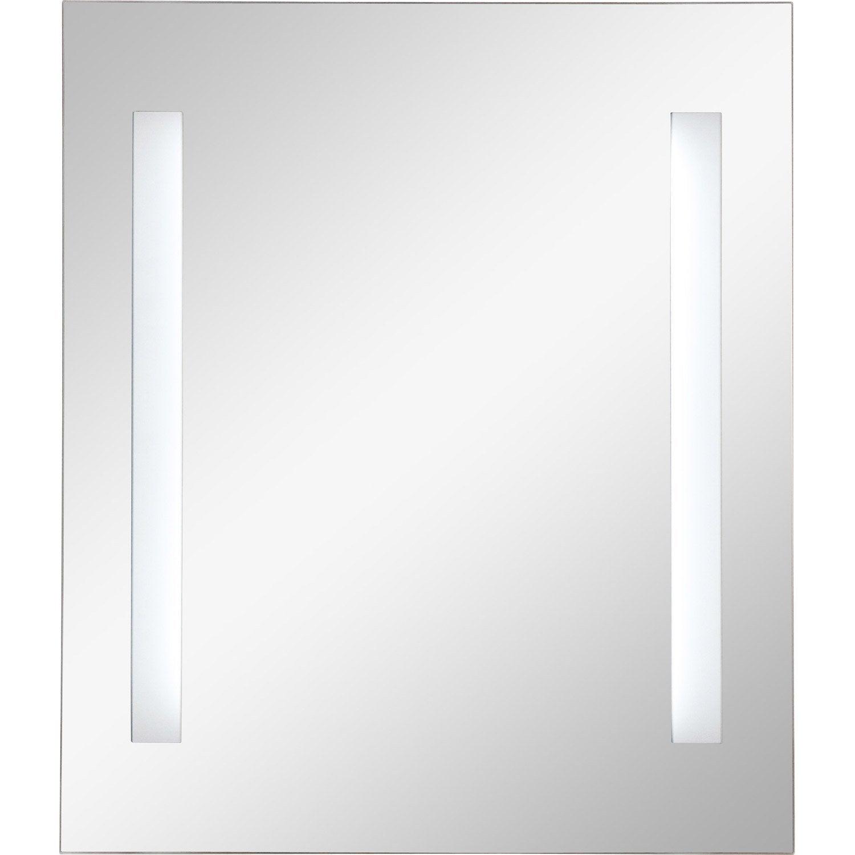 Miroir lumineux pas cher avec leroy merlin brico depot for Miroir lumineux