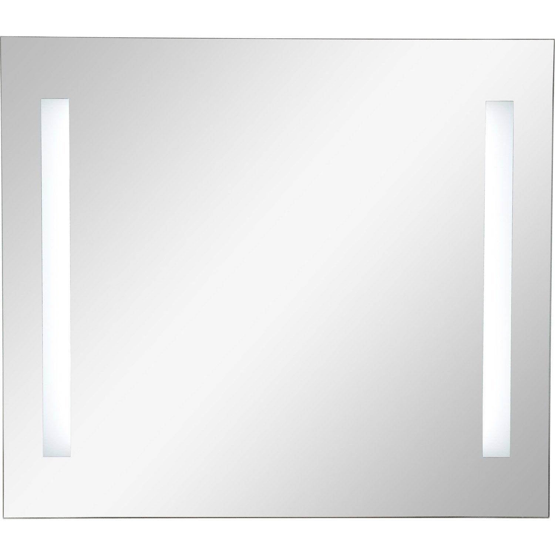 Miroir lumineux eclairage int gr x cm sensea for Miroir 70 cm