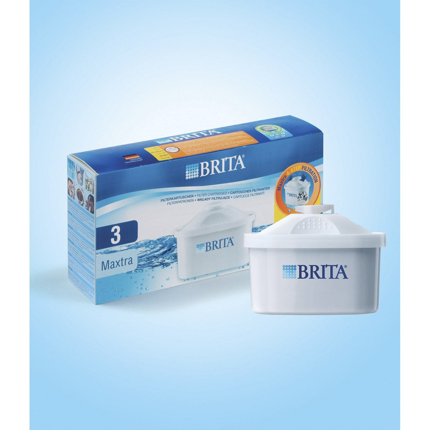 pack de 3 cartouches maxtra brita leroy merlin. Black Bedroom Furniture Sets. Home Design Ideas