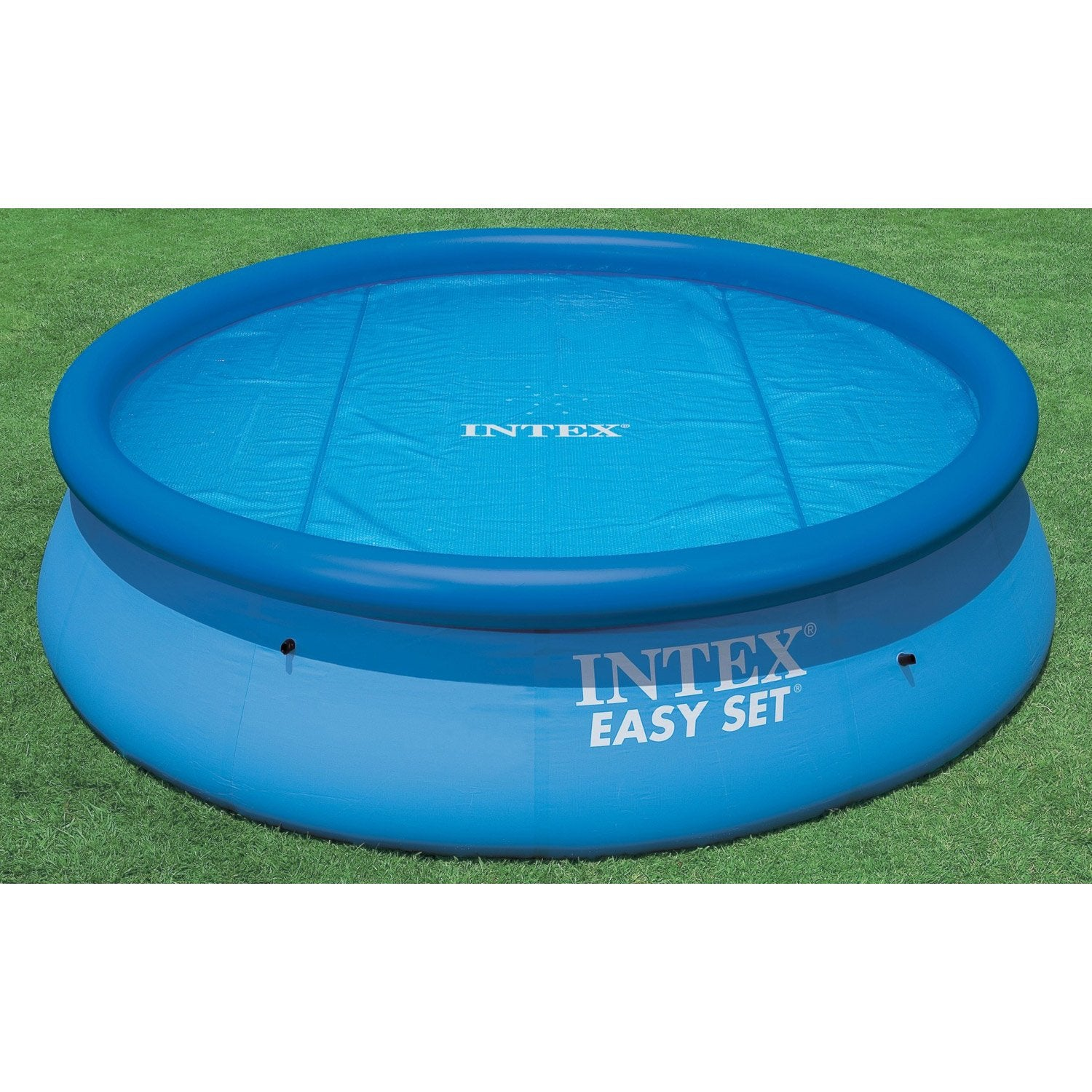 Bache piscine intex for Bache bulles piscine